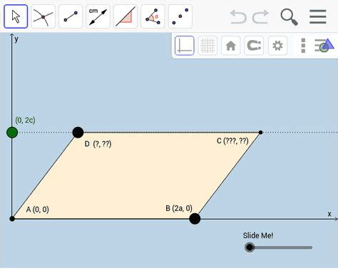 parallelogram coordinate geometry setup  images