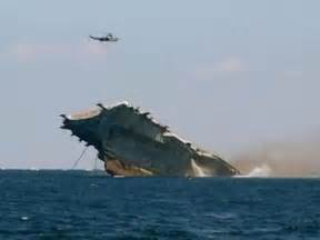 uss oriskany sinking sinking of an aircraft carrier