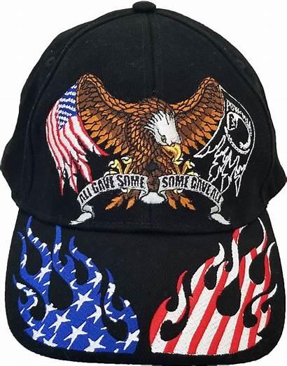 Hat Gave Eagle Patriotic Flame Rwb Hats