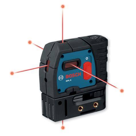 bosch laser level bosch gpl5 5 point self leveling laser