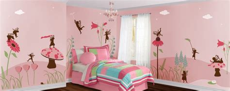 Fanciful Fairies Wall Mural Stencil Kit -- Stephanie Goins