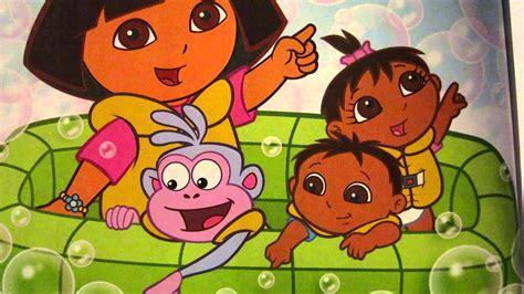 dora  explorer super babies read aloud story book early