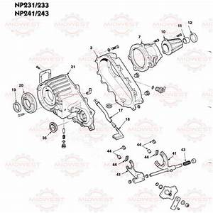 Parts Illustration Np231  Np233  Np241 And Np243 Transfer