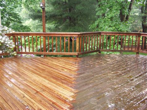 cleaning wood deck with better housekeeper all things cleaning gardening