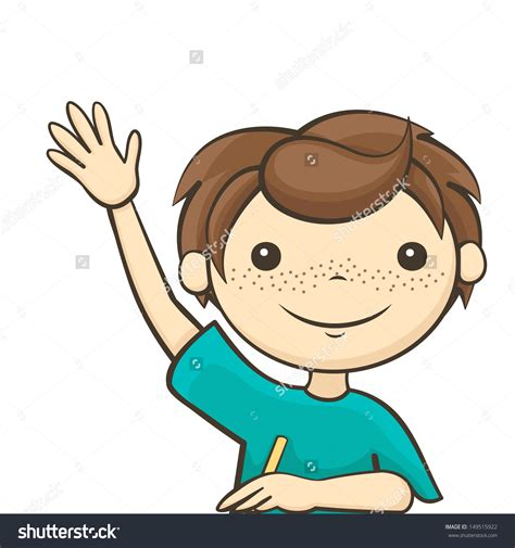 Raise Clipart Clipart Of Student Raising And Walking Clipground