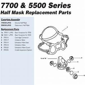 North 770018 Exhalation Valve Flaps  U2013 Major Safety