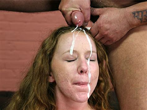 shy slut is throat fucked and four loads cover her face xxx dessert