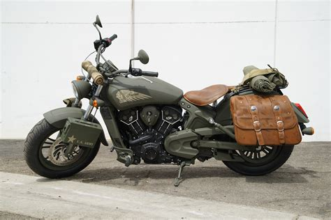 Ww2-branded Motorcycle, And It