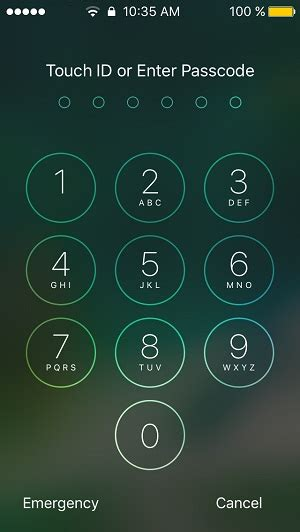 ios 10 press to unlock vs slide to unlock iphone