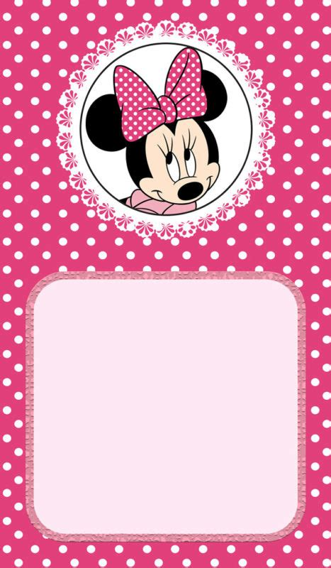minnie mouse invitation template minnie mouse birthday invitation free printable invitation templates