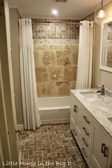 Little House In The Big D Bathroom Remodel Before And. Wood And Metal Coffee Table. Double Pocket Door. Kitchen Cabinets Okc. Sprintz Furniture. Luxury Home Interiors. What Is My Decorating Style. Hanging Tv Stand. Barn Doors For Bathroom