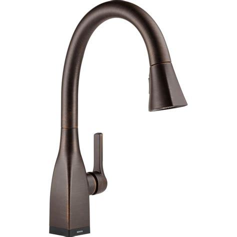 delta kitchen faucet reviews delta faucet 9183t rb dst mateo venetian bronze pullout