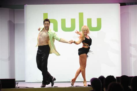 Celebs At The Hulu Upfront Event