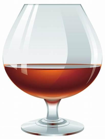 Brandy Glass Clipart Cognac Wine Drinks Pintura