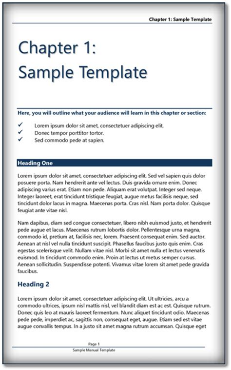 Book Templates For Microsoft Word Book Template Ms Word Pdf Format