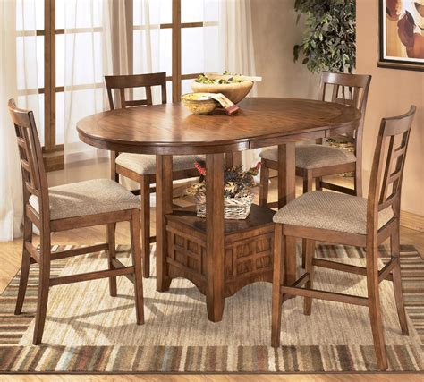 ashley furniture dinner tables ashley furniture cross island 5 piece counter height ext