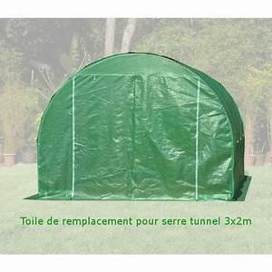 Toile Pour Jardin : toile de rechange pour serre tunnel de jardin 2x3m 6m ~ Teatrodelosmanantiales.com Idées de Décoration
