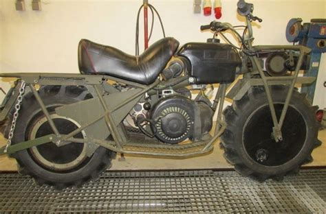 Classic Rokon 2wd All-terrain Motorcycle Shows Up For Sale