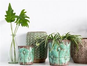 Pot De Fleur Interieur Design : cache pot interieur ~ Premium-room.com Idées de Décoration