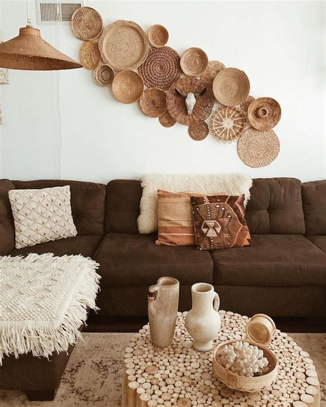Baskets, bowls, & vases (15). How to optimize the space under the bed?   Basket wall decor, Baskets on wall, Basket wall art