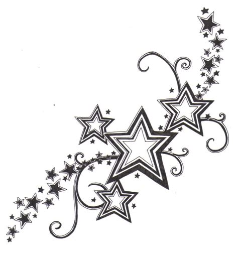 shooting star tattoo designs  tattoo yakuza japanese
