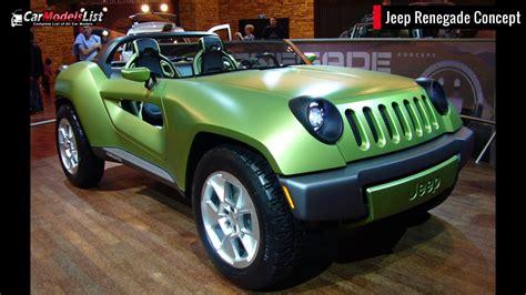 jeep vehicles list all jeep models full list of jeep car models vehicles