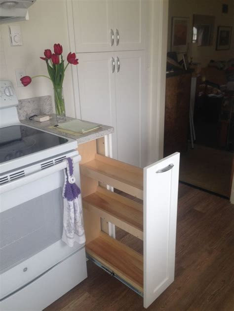 sliding spice rack  nice kitchen cabinet design   cabinet pull  sliding spice rack