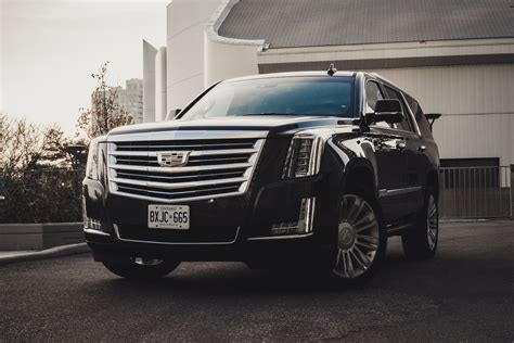 review  cadillac escalade platinum canadian auto review