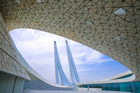 doha  mosque   education city guiding architects