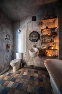 industrial style bathrooms  ideas accessories