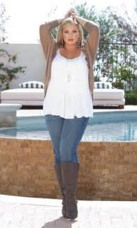 large size womens boots australia this combination swing blouse with a swing sweater and boots are the right length