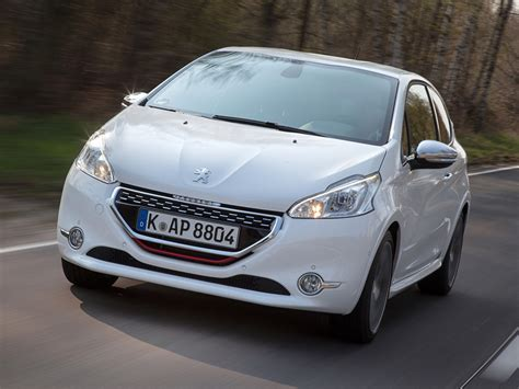 Peugeot 208 Wallpapers by Desktop Wallpapers Peugeot 208 Gti White Cars Front