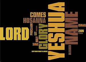 Yeshua A Song For Palm Sunday Robstill Com
