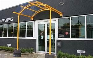 Abri Porte Entrée : auvent de porte d entr e aluminium marquise ~ Edinachiropracticcenter.com Idées de Décoration