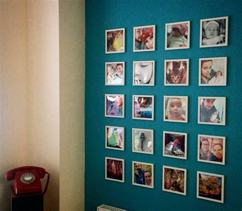 16 Idées Déco Pour Créer Un Mur Photo Chez Vous !