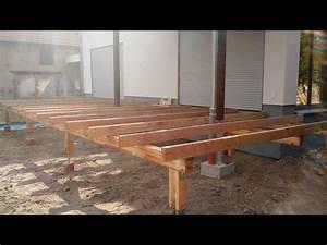 Holzterrasse Welches Holz : elegant holz unterkonstruktion haus design ideen ~ Sanjose-hotels-ca.com Haus und Dekorationen
