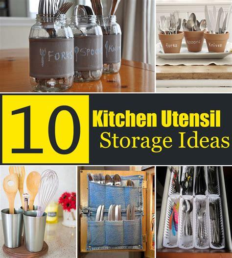 kitchen utensil holder ideas 10 creative kitchen utensil storage ideas