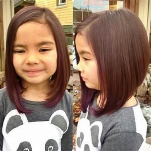 Coupe Petite Fille Mi Long : jolies coupes pour petites filles 20 mod les en photos coiffure simple et facile ~ Melissatoandfro.com Idées de Décoration