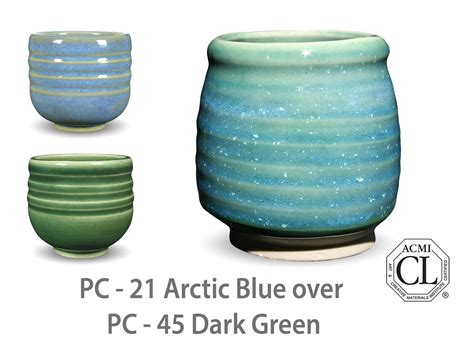 Amaco Glazes by Amaco Potter S Choice Layered Glazes Pc 45 Green