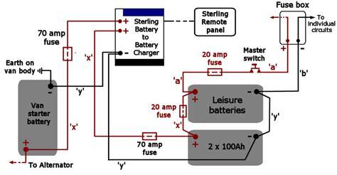 12 volt wiring diagram cing rv aa electric van