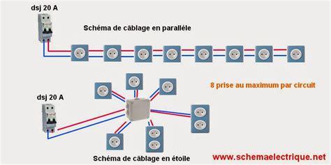 cablage cuisine schema electrique branchement cablage