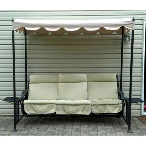 Menards Patio Swing Cushions by Menards Glider Swing Replacement Canopy Garden Winds
