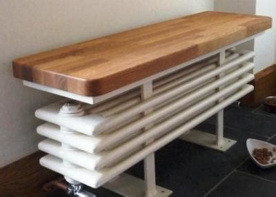 bench radiator in frame ivory shaker kitchen whalley the skipton