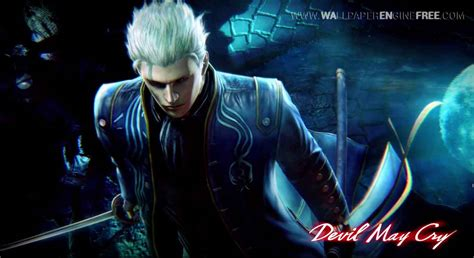 may cry mk 2 vergil wallpaper engine free