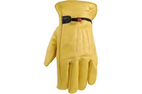 Lamont Gloves Cowhide by Lamont Palomino Grain Cowhide Work Gloves S