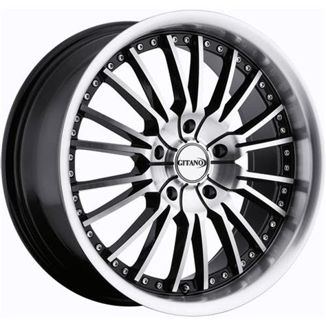 purchase  machined black gitano  wheels