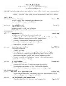 mass communication resume format bellesheim mass communications resume
