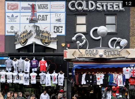 camden market panoramastreetline