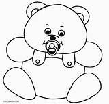 Teddy Bear Coloring Cool2bkids Printable Colorir Urso Simples Template Desenhos Valentine Imprimir Sketch Colorironline Afkomstig sketch template