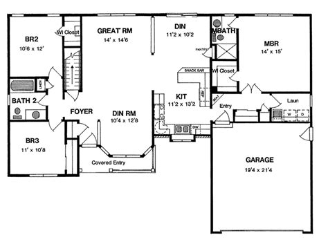 florence bend ranch home plan   house plans